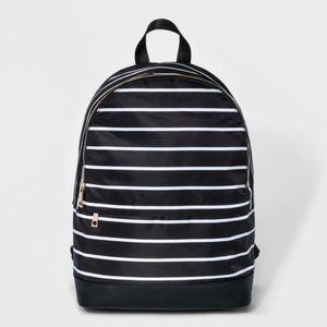 NWT A New Day Striped Dome Backpack